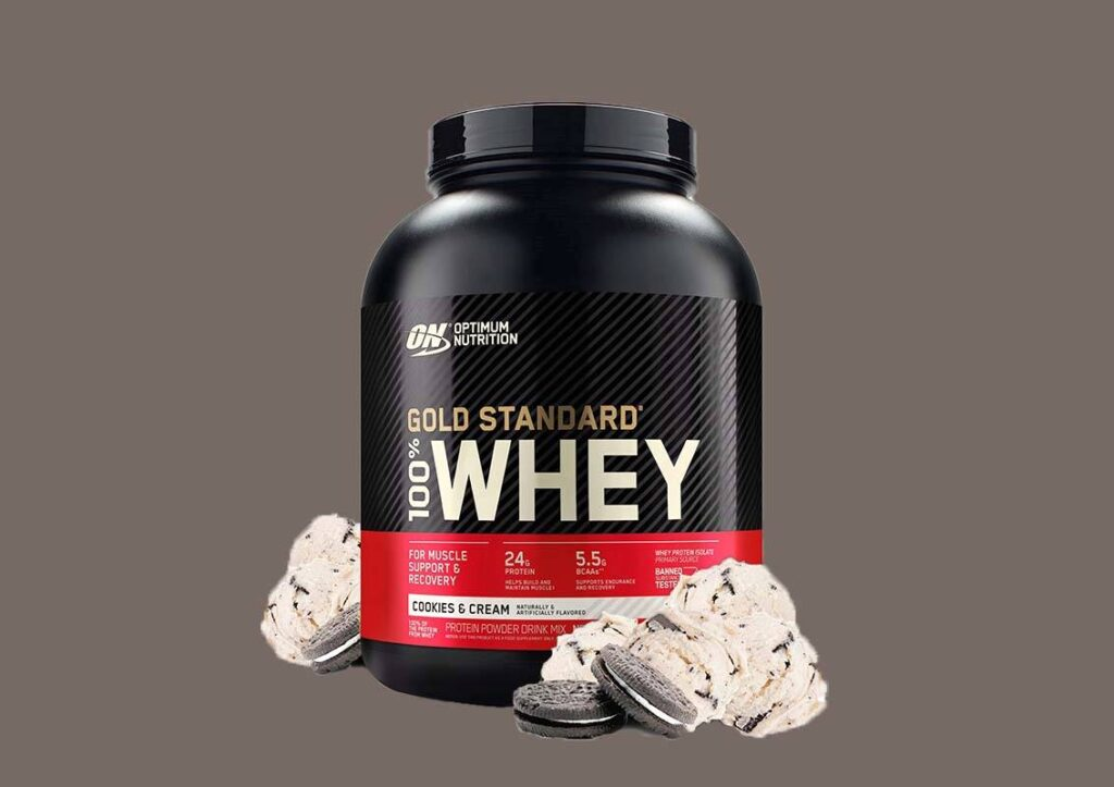 Optimum Nutrition Whey Protein Cookies And Cream