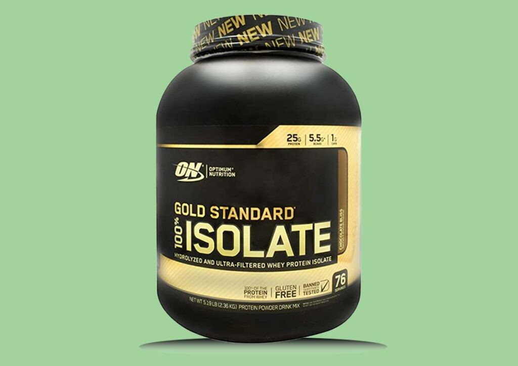 Optimum Nutrition Gold Standard 100% Isolate Whey Protein